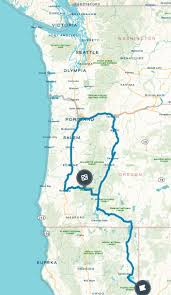 Oregon Coast Camping Map by 14 Best Toketee Falls Images On Pinterest Hiking