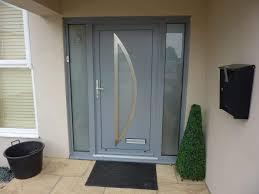 Aluminum Exterior Door Modern Aluminum Front Door With Sidelights Most Popular