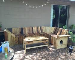 diy pallets patio corner bench with table pallet ideas recycled