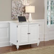 Compact Computer Cabinet Home Styles Brushed White Bermuda Compact Computer Cabinet Home