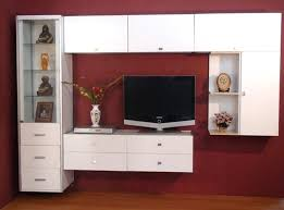 Flat Screen Tv Wall Cabinet With Doors Wall Mount Tv Cabinet Wall Mount Tv Cabinet Design Motauto Club