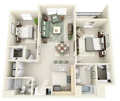 Bedroom ApartmentHouse Plans - Home style interior design 2