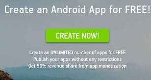free apps for android 3 popular website to create android apps yourself
