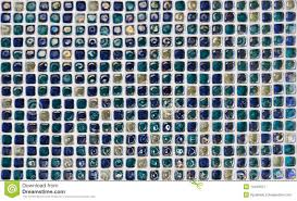 wall blue glass tile texture royalty free stock photography