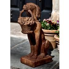 Als Garden Art Dog Statuary
