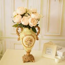 bouquets for wedding silk peony bouquets for wedding tabletop centerpieces home