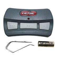 Reprogram Garage Door Opener by Garages Genie Gict390 Remote Genie Garage Door Opener Gict390 1bl