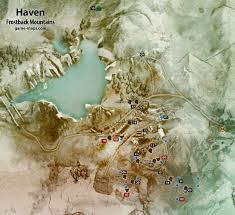 Thedas Map Frostback Mountains Haven Dragon Age Inquisition Game Maps Com