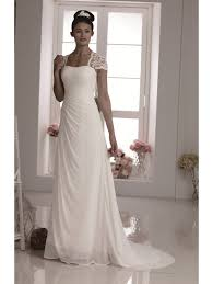 chiffon wedding dress gowns pretty ivory chiffon wedding dress w570