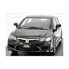 amazon com honda civic type r fd2 black diecast model by ebro