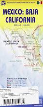 Map Of Ensenada Mexico by 1 Mexico Baja California Travel Reference Map 1 650 000