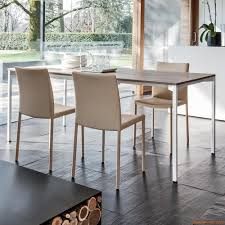 pure 8072 tonin casa extendable table made of metal with melamine
