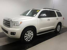2013 toyota sequoia gas mileage 2013 used toyota sequoia platinum navigation and back up at