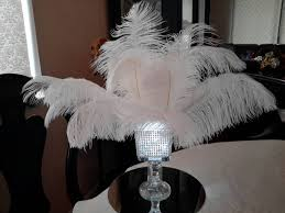 small square vases ostrich feather square lighted bling vase centerpiece