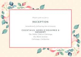 wedding invitations online free wedding reception invitations 9585 as well as post wedding