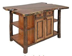 Hickory Kitchen Island Hickory Kitchen Island Findley Lake Trading Co