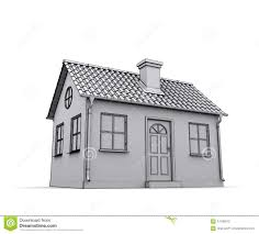 frame house 3d model stock photos image 24108613