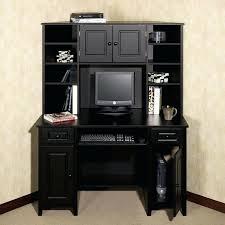 desk ikea galant corner desk black brown black antiqued l shaped