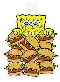 spongebob squarepants krabby patty sticker topic