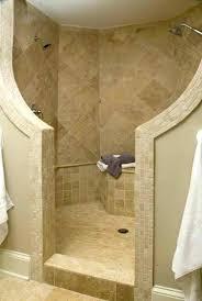 Shower Designs Without Doors Walk In Shower Ideas Doorless Walk In Shower Designs For Small