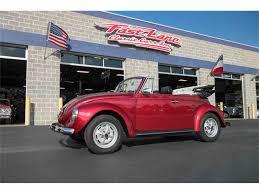 volkswagen beetle red convertible 1972 volkswagen beetle for sale on classiccars com