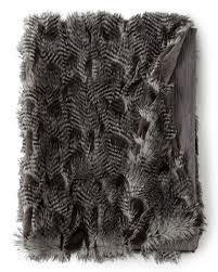 Faux Fur Throw Grey Luxefinds Fashion Shopping Engine