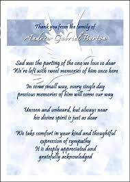bereavement thank you cards bereavement thank you sayings ultimates photo