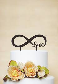 infinity cake topper infinity cake topper wedding cake topper cake topper custom