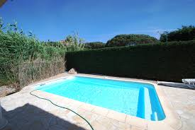 for sale in sainte maxime house with pool in secure estate near