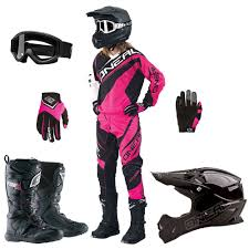 womens motocross gear packages oneal 2015 womens element race jersey pants gloves 3 series