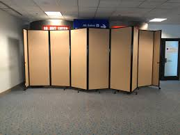 appealing office space divider ideas the hush panels diy office