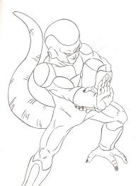 dragon ball z coloring pages frieza corpedo com