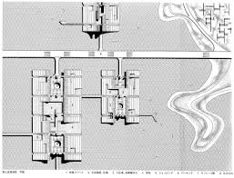 National Cathedral Floor Plan by A Plan For Tokyo 1960 Kenzo Tange Archeyes