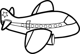 cute big airplane coloring page wecoloringpage