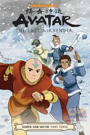 avatar airbender u0027 south u0026 north graphic novels