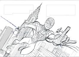drawings of spider man colouring pages for spiderman drawings for