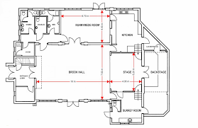Conference Room Floor Plan Hire Of Hall Ottershaw Village Hall