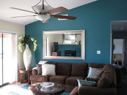 Paint Colors For Living Room With Brown Furniture Blue Color Living Room Mesmerizing Wall Paint Ideas For Living