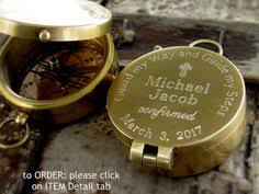 confirmation gift for boy confirmation gift engraved compass confirmation gift boy