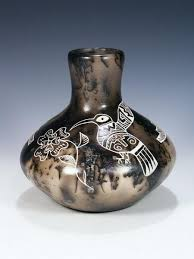 Indian Wedding Vase Story Horsehair Pottery U2013 Pueblodirect Com