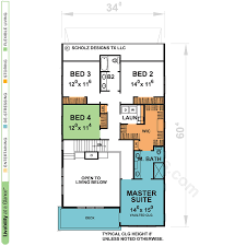 perrypointe 56399 contemporary home plan at design basics