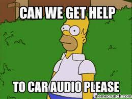 Car Audio Memes - audio