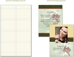 funeral stationery personalized prayer cards and funeral stationery