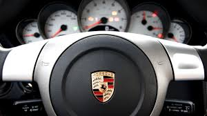 porsche logo black background wallpaper logo