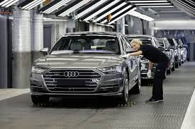 first audi audi group posts robust financial figures after challenging first