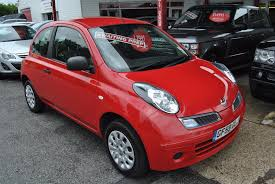 nissan micra new shape used nissan micra red for sale motors co uk