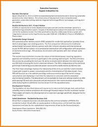 11 executive summary examples model resumed