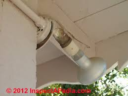 troubleshooting light fixture installation exterior light fixture inspection defects