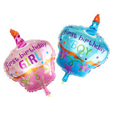 birthday helium balloons boy girl aluminum foil balloon helium balloons for birthday