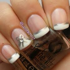 263 best nails french tip designs images on pinterest make up
